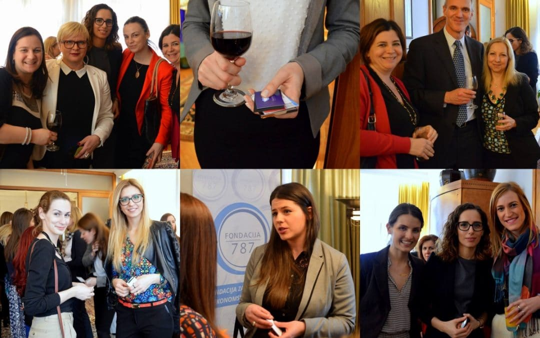 Foundation 787 organized Networking event with the US Embassy in Sarajevo