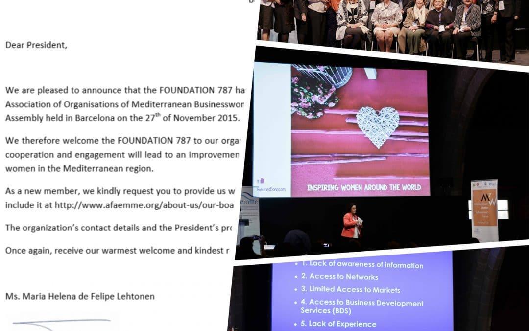 Postali smo članica Asocijacije organizacija poslovnih žena Mediterana