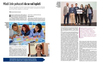 Business Magazine BiH o Fondaciji 787 i mladim poduzetnicima