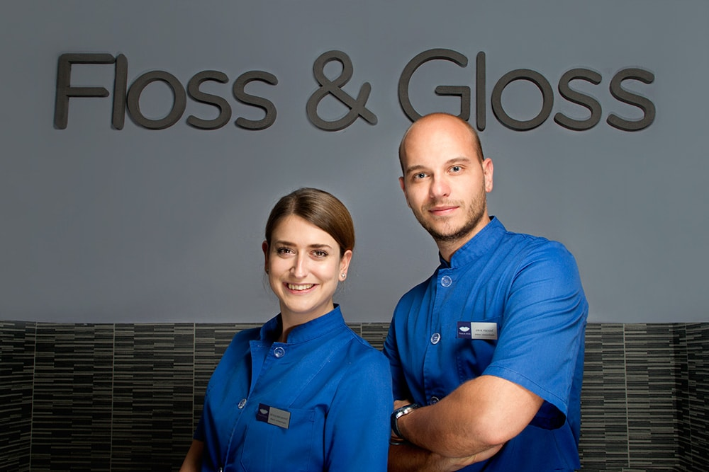 Floss & Gloss – The team for bright teeth and even brighter future of B&H dentistry