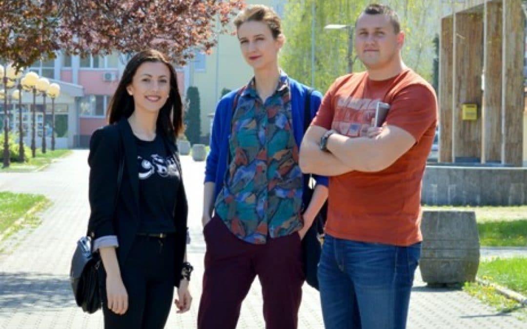 Presenting Marina, Slavica and Tarik – participants of the OK 787 Workshops