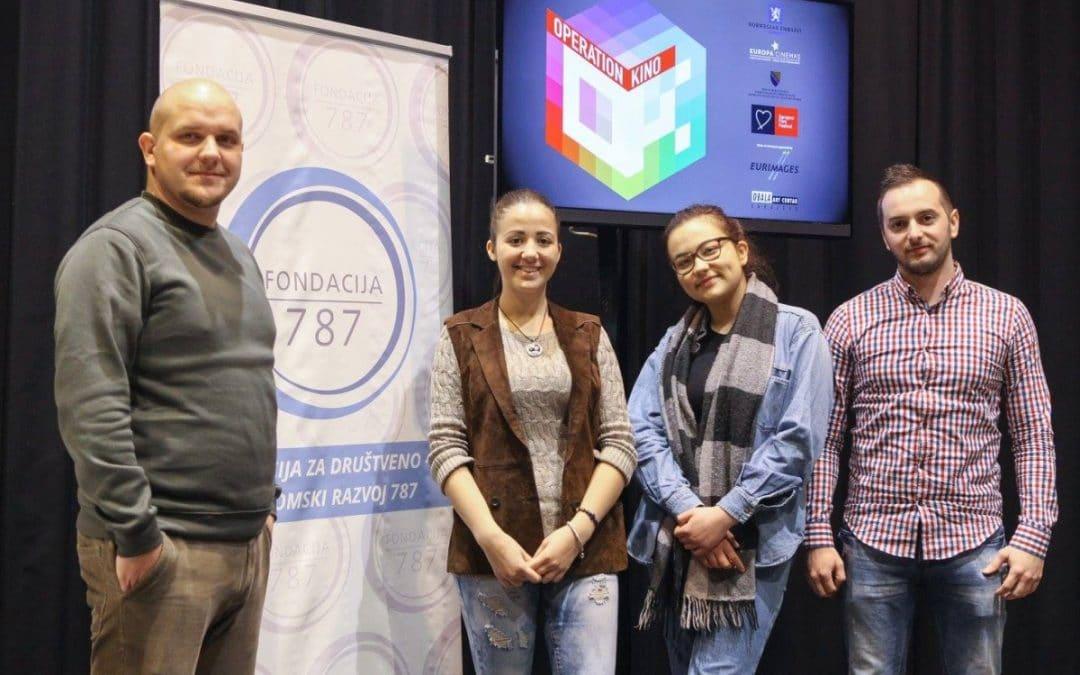 Presenting Dino, Sunčica, Ana and Mićo – participants of the OK 787 Workshops