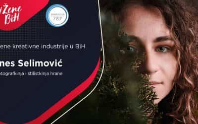 "Ines Selimović – fotografkinja i stilistkinja hrane, kreatorka bh. brenda ""Phrana"""