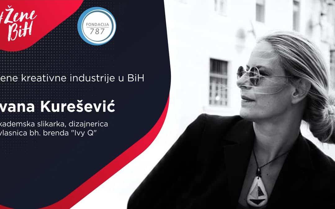 "Ivana Kurešević – dizajnerica nakita i kreatorka brenda ""Ivy Q"""
