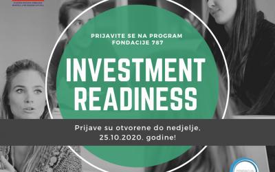 """Prijavite se na prvi """"Investment Readiness"""" program u BiH!"""