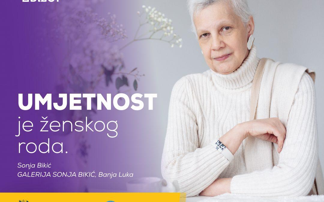 Sonja Bikić – UMJETNOST je ženskog roda