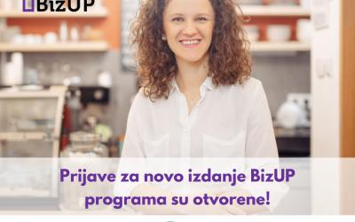 Poziv bh. preduzetnicama za učešće u novom izdanju BizUP programa!