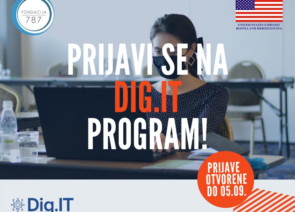 Želite razviti svoj biznis korištenjem digitalnih alata? Prijavite se na program podrške preduzetnicama – Dig.IT!